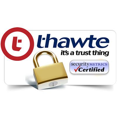 thawte certified